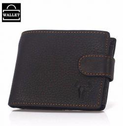 Πορτοφόλι από γνήσιο δέρμα για άντρες