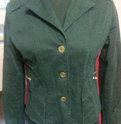 Куртка-ветровка из плотного хлопка 46 р-ра
