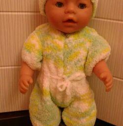 Kit on baby born doll