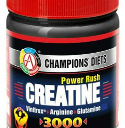 CREATINE Power Rush 3000 120 καπάκια.