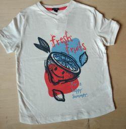 Новая футболка Kiabi 8 лет