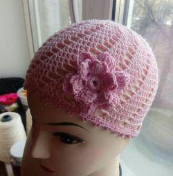 Pălărie de vară realizată manual