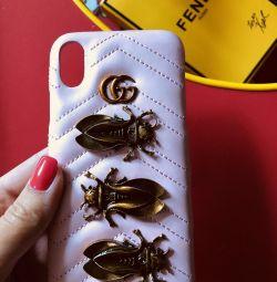 Чехол gucci iphone x