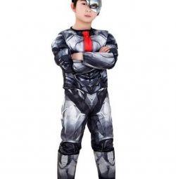 Αποκριάτικη φορεσιά Cyborg με μυϊκή μάζα