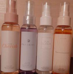 Spray-uri pentru corp parfumate pentru femei