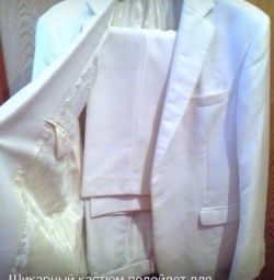 Chic New White Costume 46 -48! Cost 11 tons of r