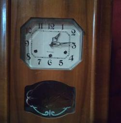 Часы настенные Янтарь с четвертным боем