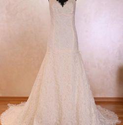 Mariella Burani wedding dress it50 Italy New