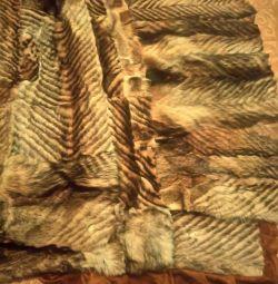 Woolen Wolf Mat