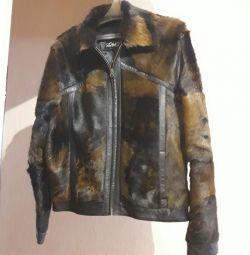 Продам новую мех.натур.куртку.