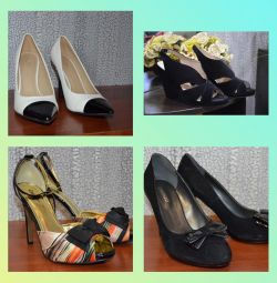 Pantofi de dimensiuni noi 39