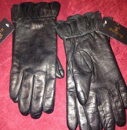 Перчатки женские. Новые