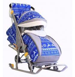 Sledge stroller Galaxy kids 1 new