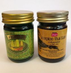 New Thai ointments and balms