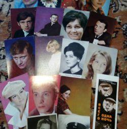 Fotografii ale actorilor