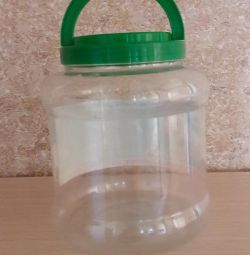 Plastic jar 4.3 l