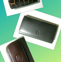 Wallets + key holders 3 types