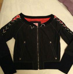 Куртка ветровка подростковая для девочки