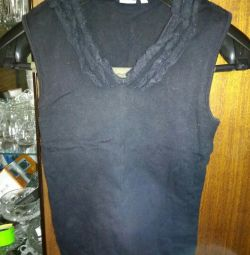 Βαμβάκι T-shirt Μαύρο