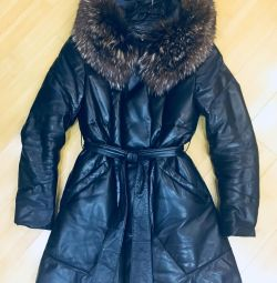 Selling a natural down jacket