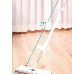 Dry & Wet L size Mop (with Extra 3 Cloth)