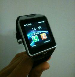 Έξυπνο ρολόι smart watch dz09