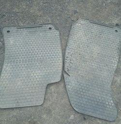 Rubber mats different