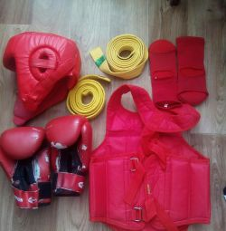 Protection for martial arts