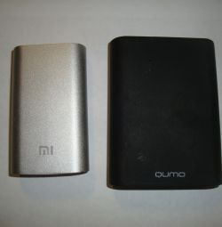 External battery MI / qumo - 5200/10400 mah