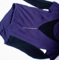 Tricotaje pentru jachete. Tăiere interesantă 2in1