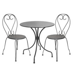 3TMX SET - TABLES & CHAIRS AMORE ANTH