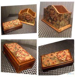 Κουτί κουτιού μολυβιού. Χειροκίνητη εργασία