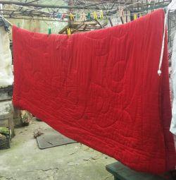 Κουβέρτα που χρησιμοποιήθηκε.