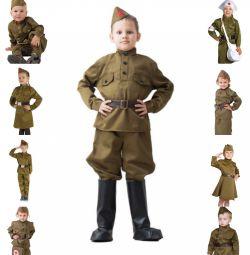 Военная форма для мальчиков и девочек