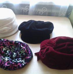 Кепки, берет,шляпка
