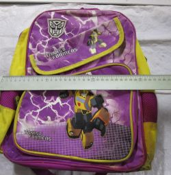 Backpack school trans formers