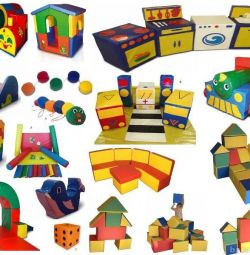 soft educational modules for kindergarten