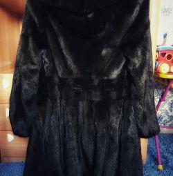 Fur coat Scandinavian mink 42-44
