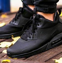 Nike Air Max 90 mid all black