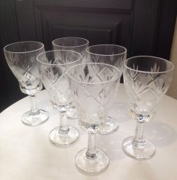 Crystal glasses (Kiev) in packing