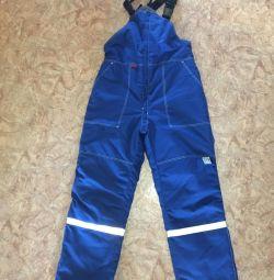 Winter electrics overalls