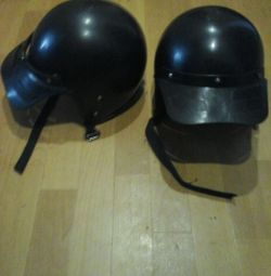 Two new motorcycle helmets