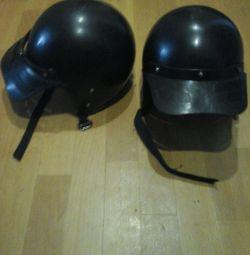 Две новые мотоциклетные каски