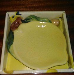 Πιάτο για λεμόνι
