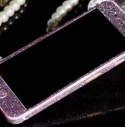 iPhone 6 / 6s, iPhone 6 / 6s için cam, tel