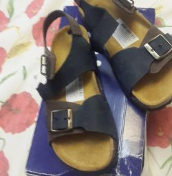 New sandals leather p 33 (leather nat)