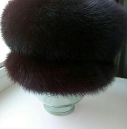Winter hat, mink