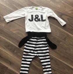 Κοστούμι για ένα κορίτσι 3 ετών