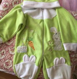 Νέο κοστούμι fleece για παιδιά
