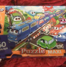 Puzzle-uri diferite pentru copii